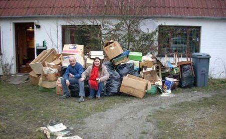 Oprydning og klargøring af hus før salg. Hjælp til nedpakning og flytning.