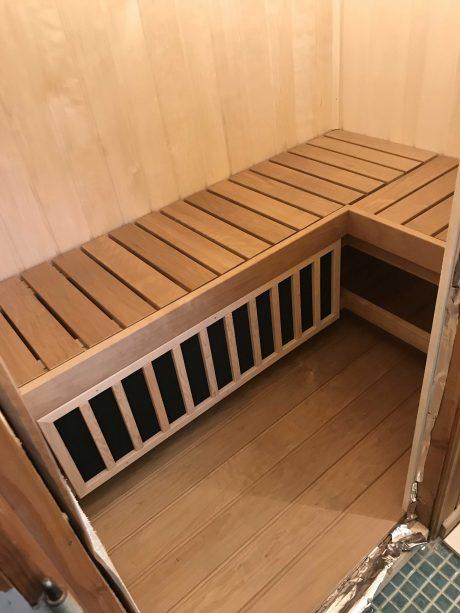 Saunabænk