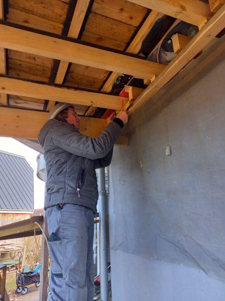 Handyman Ringsted måler terrasse