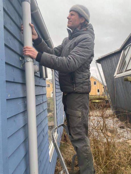 Handyman Ringsted reparerer tagrende
