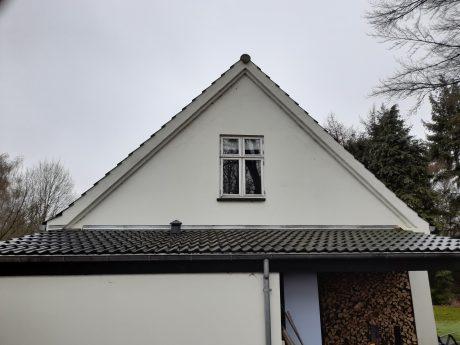 Nyt vindue isat i gavl