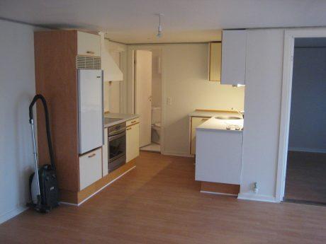 Nyopsat køkken i lejlighed